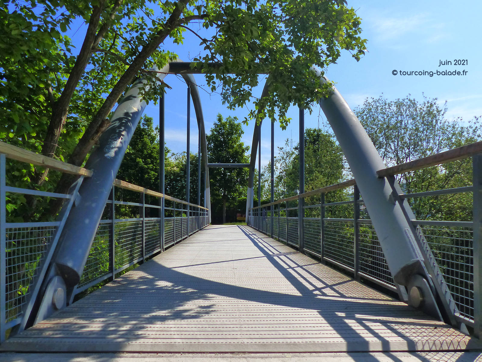 Pont Monplaisir, Marcq-en-Baroeul, Canal de Roubaix