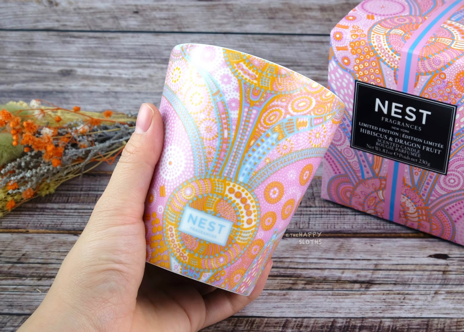 NEST Fragrances   Hibiscus & Dragonfruit Candle: Review