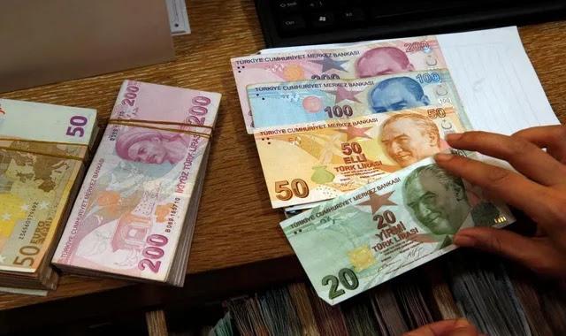 سعر صرف الليرة التركية أمام العملات اليوم الجمعة 25/12/2020