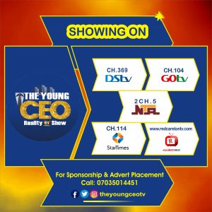BREAKING || THE YOUNG CEO REALITY TV SHOW WEST AFRICAN WIDE AUDITION WRAPS UP IN A GRANDEUR OVATION IN LAGOS NIGERIA
