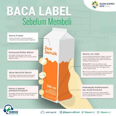 Baca label sebelum membeli