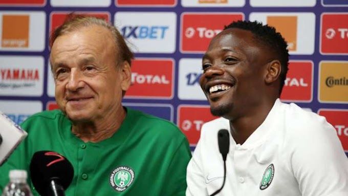 Afcon Qualifiers: Gernot Rohr responds after receiving criticism for calling up Ahmed Musa who has been clubless since October