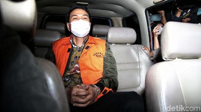 Ditahan KPK, Azis Syamsuddin Dijebloskan ke Rutan Polres Jaksel dengan Kondisi Diborgol