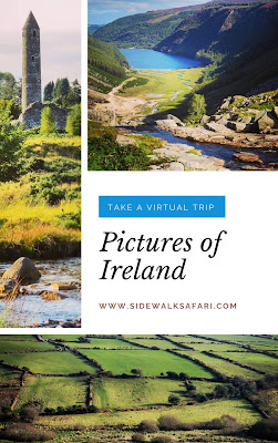 Ireland Pictures - Collage for Pinterest