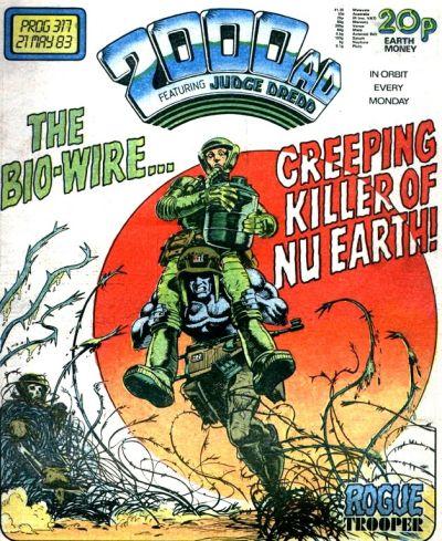 2000 AD Prog 317, Rogue Trooper
