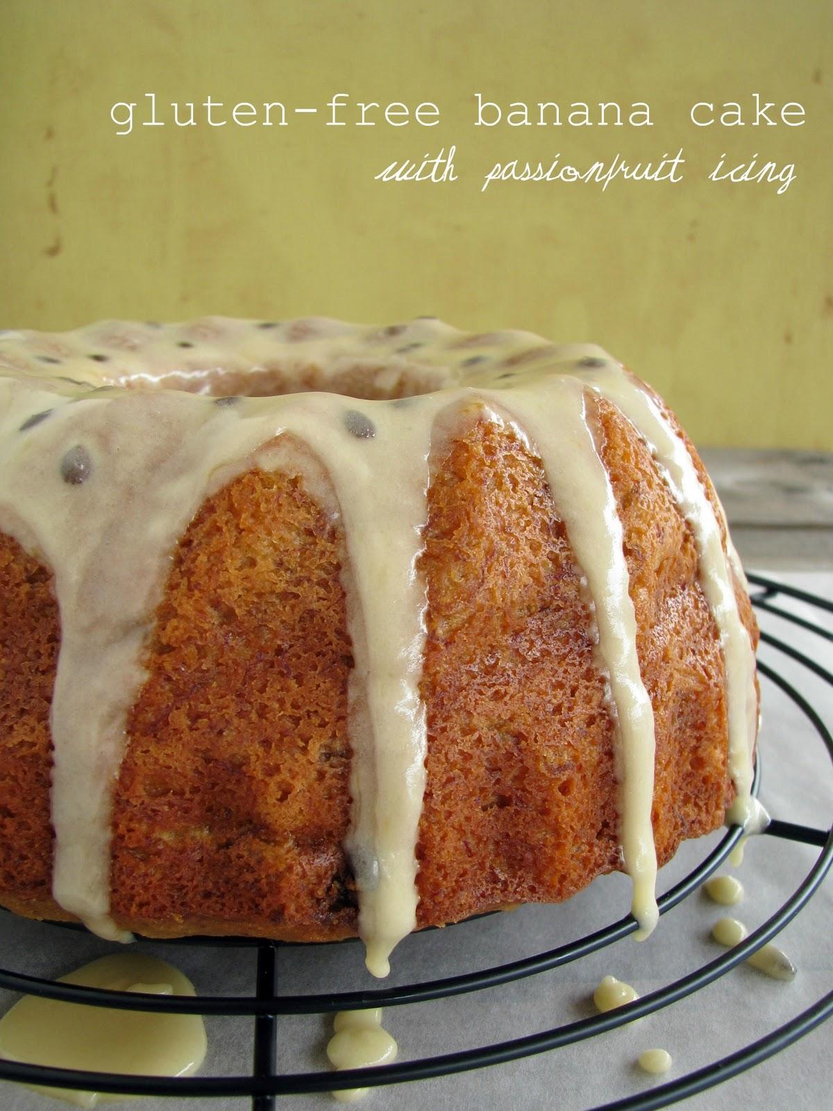 Gluten Free Passionfruit Cake Recipe