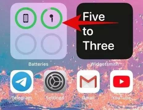 Cara Menambahkan Widget Baterai di iPhone (iOS 14)-6
