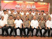 Walikota Medan Menerima Kunjungan Kapoldasu dan Kakanwil BPN Sumut di Balai Kota