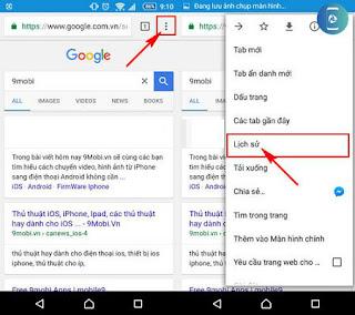Hướng dẫn xóa lịch sử tìm kiếm Google trên Android nhanh nhất, cách xóa lịch sử trình duyệt cho điện thoại android trong vòng 5s