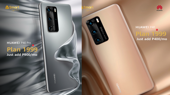 Huawei P40 Series now on Smart Postpaid Plan 1999
