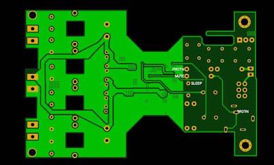 Class-D Amplifier Yamaha YDA138 Layout PCB