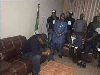 Picture Of The Day :See Governor Dickson After The Guber Defeat By APC
