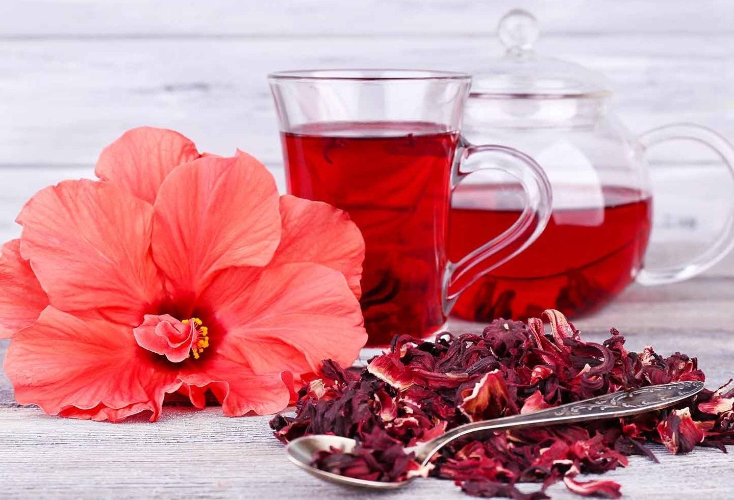 هل تعلمون ماهي شاي الكركديه وكيف يحضر وبماذا يفيد؟