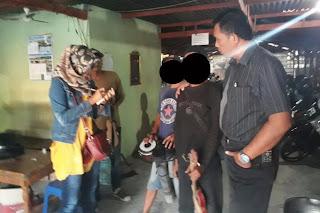 Anak Jalanan Digelandang Polisi Dari Jalanan