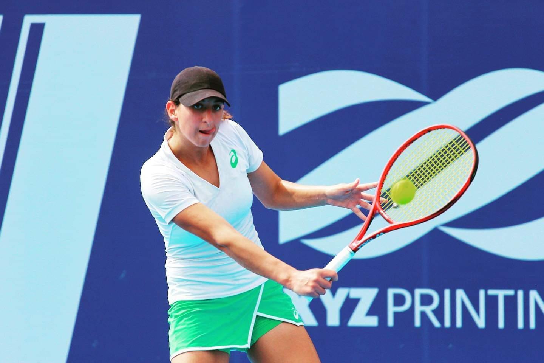 إيناس ايبو تتأهل إلى الدور الثاني لدورة المنستير لتنس (الأسبوع السابع)