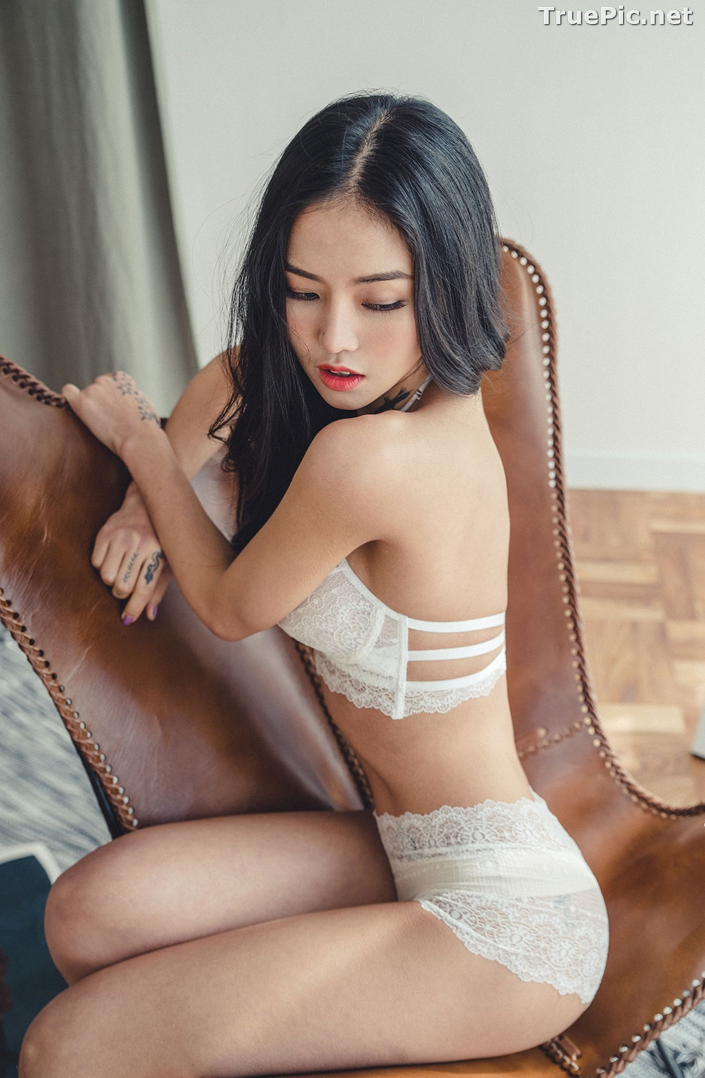 Image Korean Fashion Model – Baek Ye Jin – Sexy Lingerie Collection #6 - TruePic.net - Picture-3