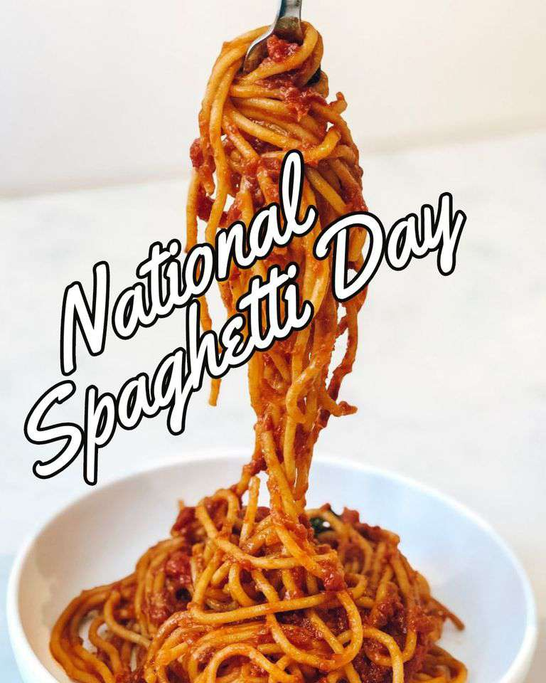 National Spaghetti Day Wishes Pics