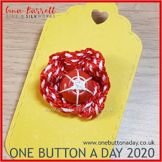 One Button a Day 2020 by Gina Barrett - Day 137 : Reef