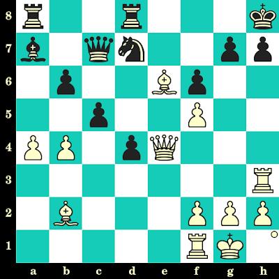 Les Blancs jouent et matent en 2 coups - Nick De Firmian vs Edward Formanek, Philadelphie, 1987