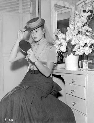 Ingrid Bergman detrás de las cámaras