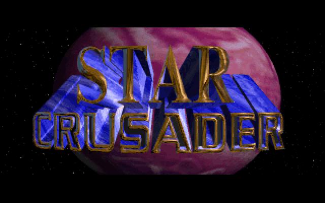 Star Crusader DOS title screen