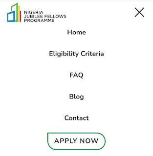 Good News: Nigeria Jubilee Fellowship Programme Registration Portal Just Open