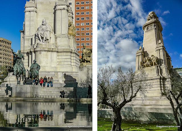 Monumento a Cervantes, Madri