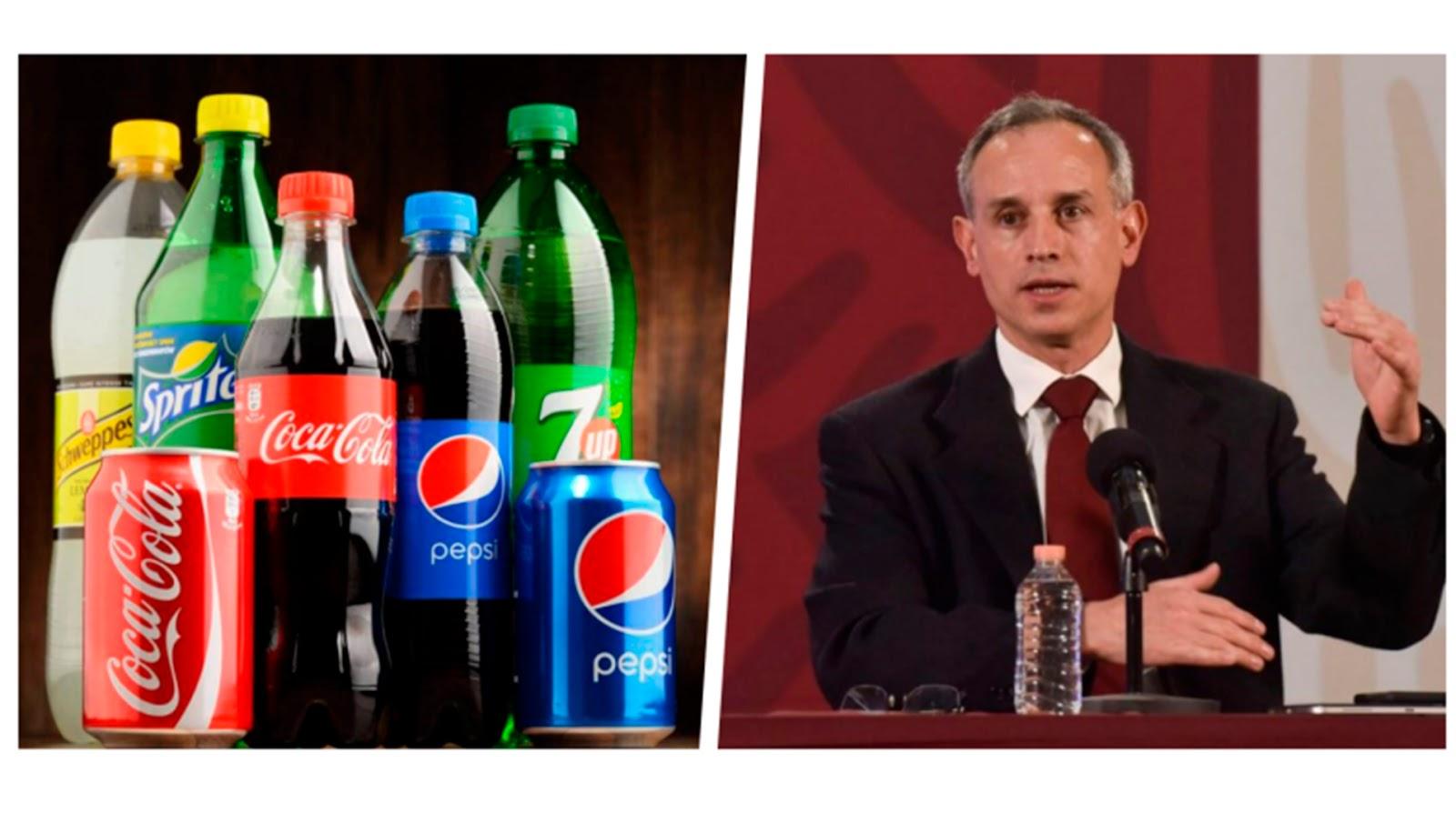 Refresqueras se lanzan contra López-Gatell, niegan causar obesidad y diabetes; dicen, las ofendió