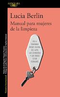 """Portada en Alfaguara de la recopilación de relatos de Lucia Berlin titulada """"Manual para mujeres de la limpieza""""."""