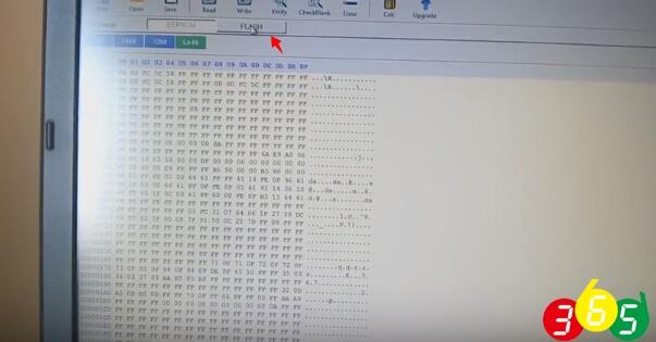 show data read