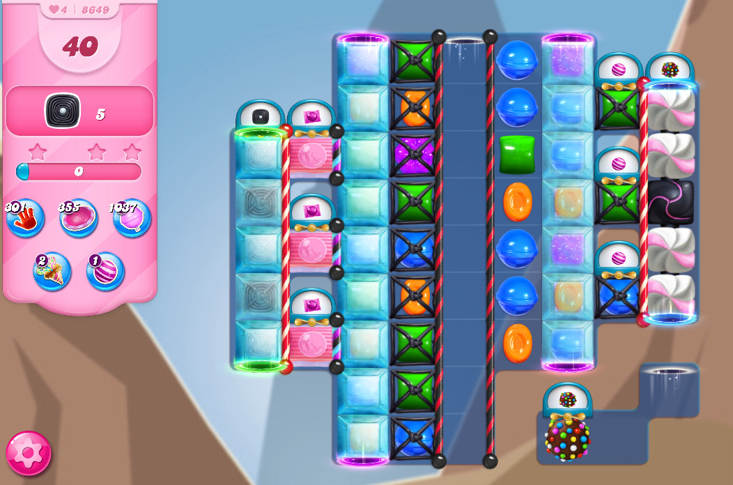 Candy Crush Saga level 8649