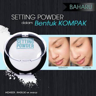 Smooth Focus Setting Powder Sendayu Tinggi