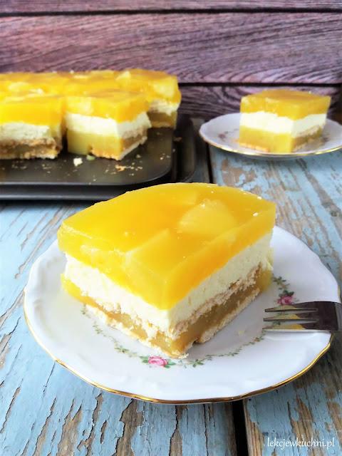 Ciasto Tropikana bez pieczenia przepis
