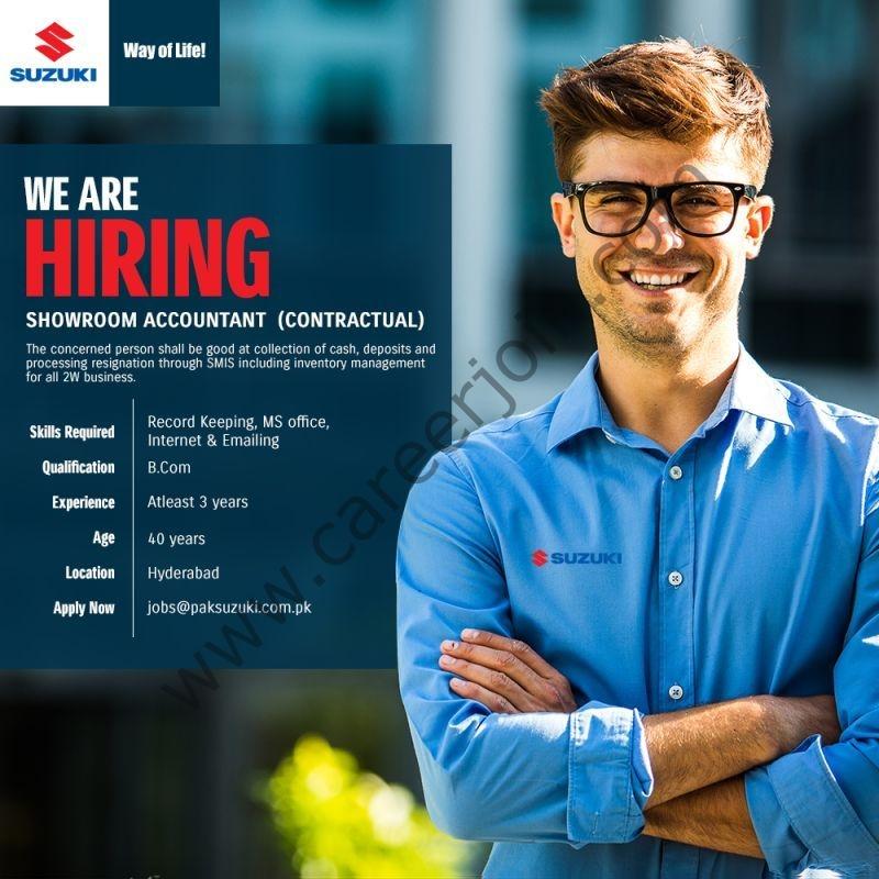 jobs@paksuzuki.com.pk - Pak Suzuki Motor Company Limited Jobs 2021 in Pakistan