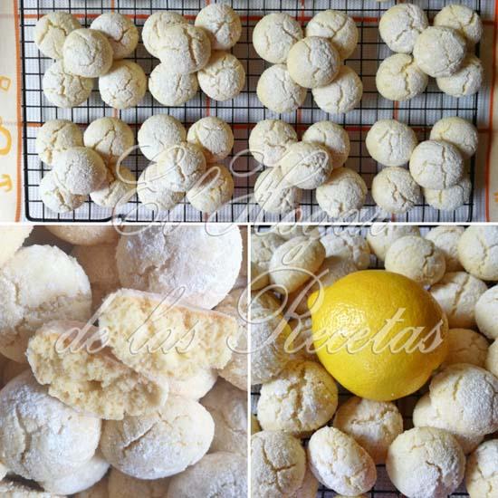Galletas cralqueladas de limón