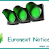 Equity Shares Notices by issued date of Euronext