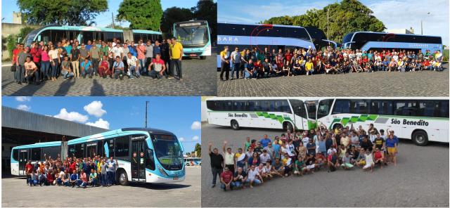 Encontro Nacional de Busólogos 2019 foi um baita sucesso