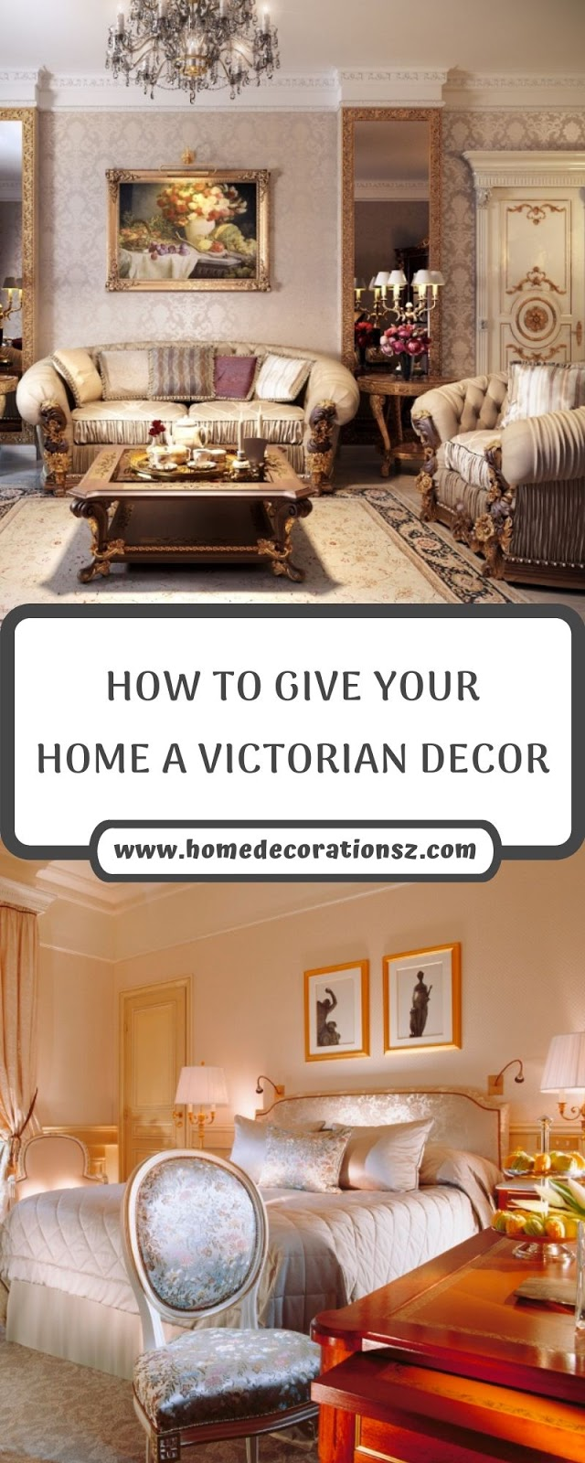 HOW TO GIVE YOUR HOME A VICTORIAN DECOR