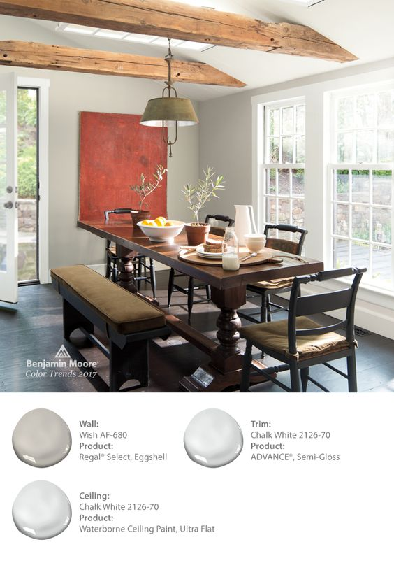 Benjamin Moore Wish from the 2017 Color Trends
