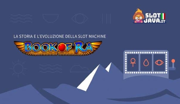 La Storia E L'evoluzione Della Slot Machine Book of Ra #infographic