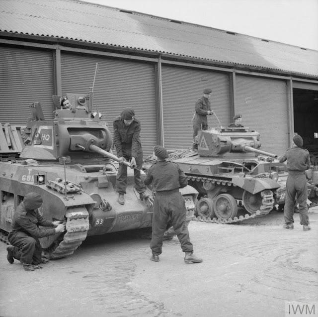 Matilda and Valentine tanks, 28 July 1941 worldwartwo.filminspector.com