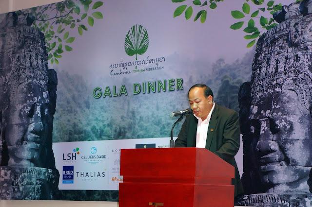 Thourn Sinan, Président de la Fédération du Tourisme du Cambodge