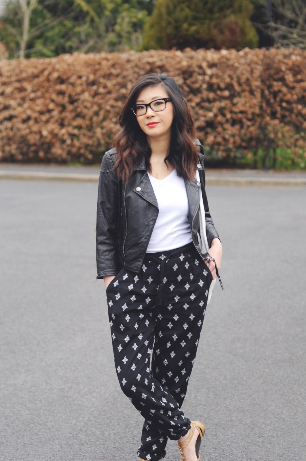 creating an off duty look, fashion blogger, fashion on a budget