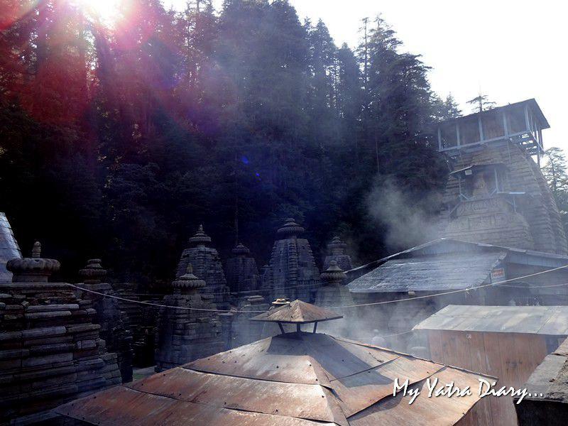 Myhtical misty Jageshwar Uttarakhand