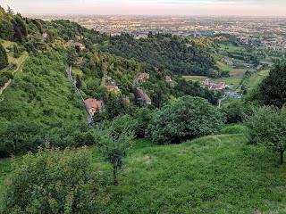View over Monastero Astino.