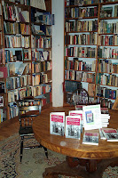 photo of shelves at Loganberry Books