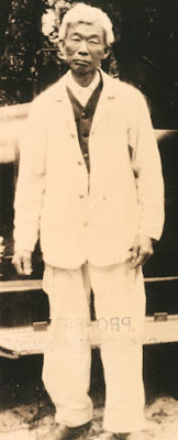 Photo of Lue Gim Gong in 1920