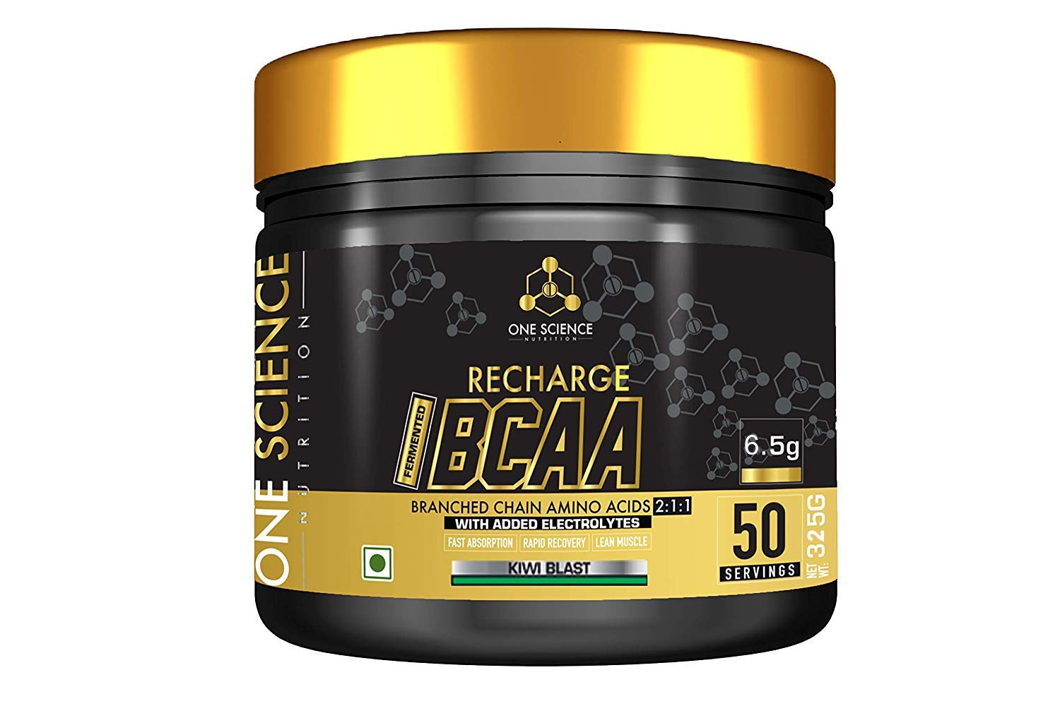 One Science Recharge BCAA 2:1:1, 0.72 lb, 50 Servings
