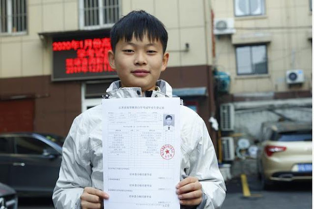 He Yide - Cậu bé sinh non lập kỷ lục Guinness khi mới 5 tuổi
