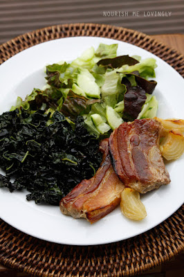 Roasted pork belly (AIP)